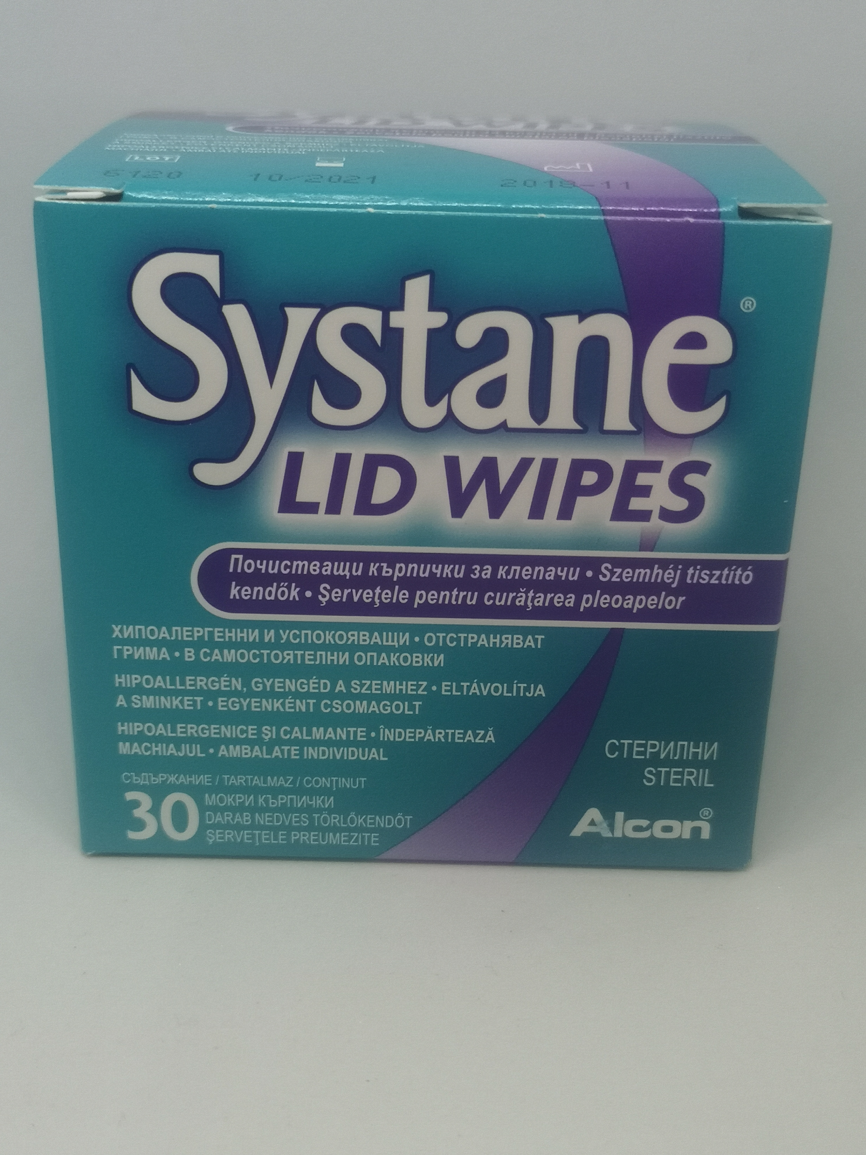 Systane Lid Wipes