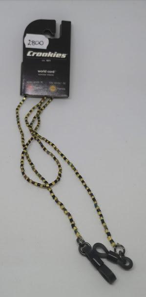 Croakies world cord (sárga)