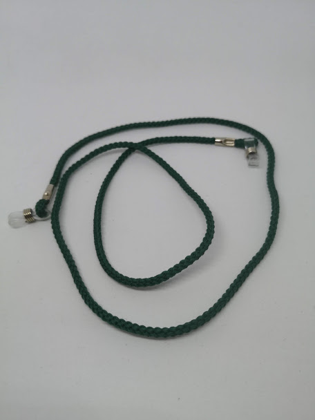 Napszemüvegre és optikai keretre helyezhető zsinór (zöld)