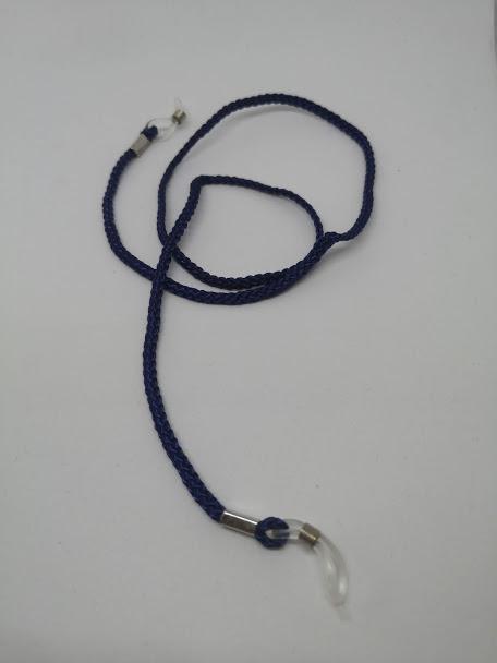Napszemüvegre és optikai keretre helyezhető zsinór (kék)