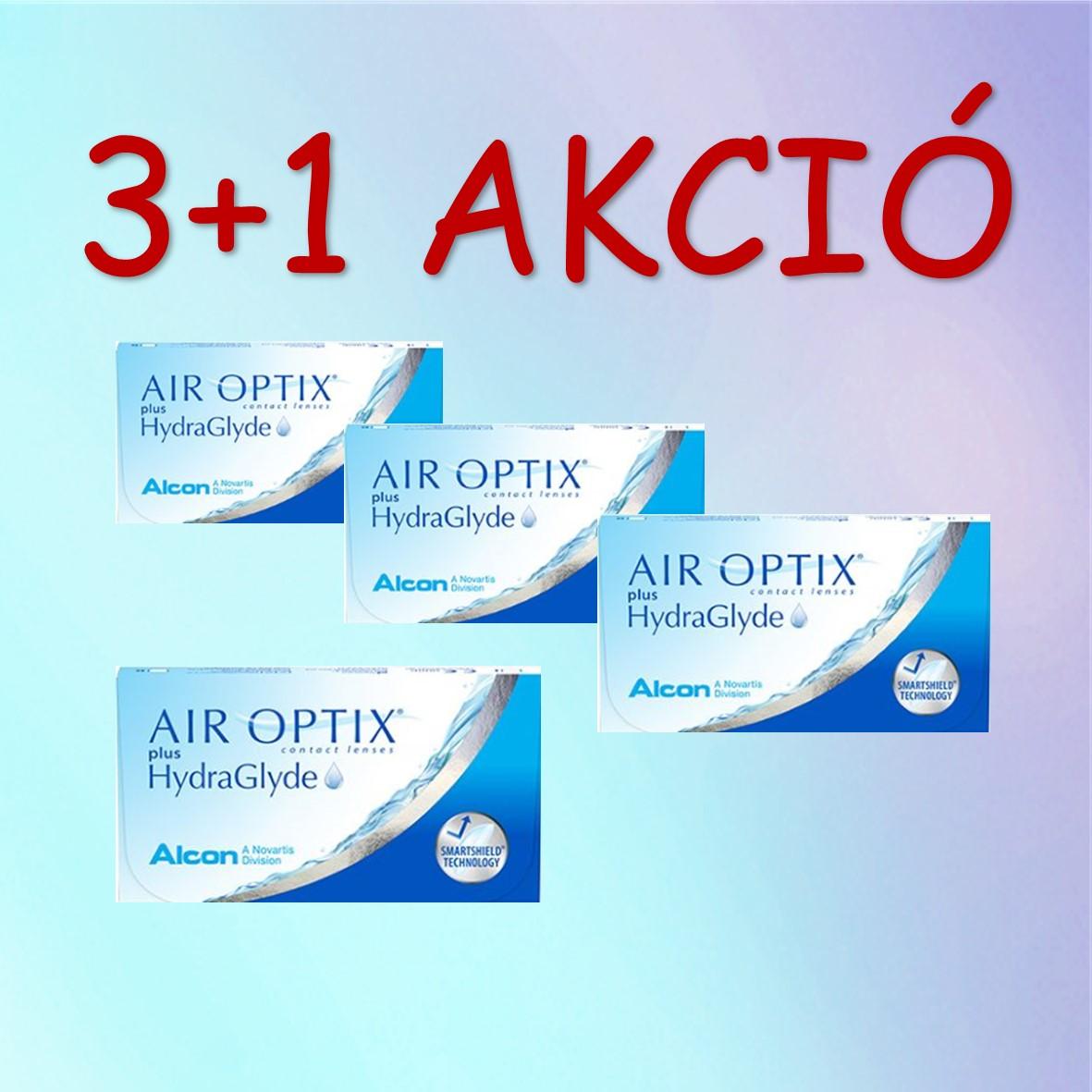 3+1 Air Optix plus HydraGlyde 6db